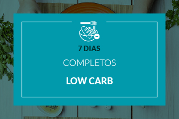 Low Carb - 7 dias completos