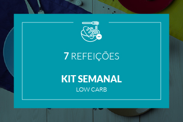 Low Carb - Kit semanal - 7 refeições