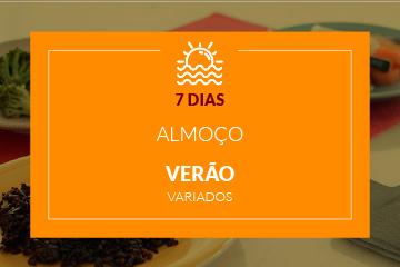 Verão - Almoço - 7 dias