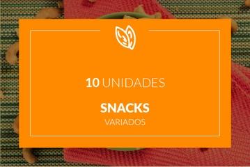 Snacks - 10 unidades