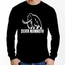 Manga Longa Silver Mammoth - Preta