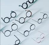 Mini Óculos Amigurumi