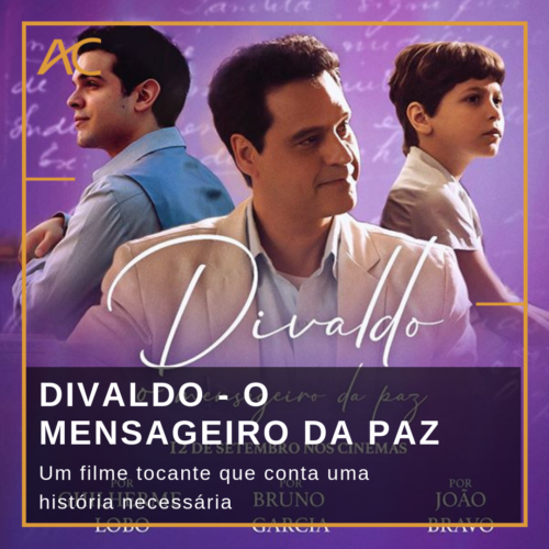 DVD Filme Divaldo - 0 Mensageiro da Paz - Frete Grátis