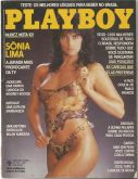 PLAYBOY MAGAZINE BRAZIL # 141 - SONIA LIMA -  APR 1987 HOT!!