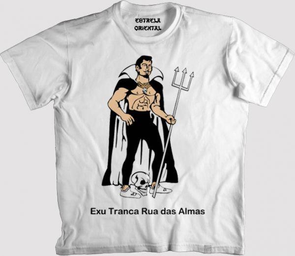 Camiseta Exu Tranca Rua das Almas - Loja da Estrela Oriental