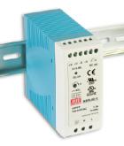 MDR-40-24 Fonte Chaveada Industrial Montagem em Trilho DIN 24VDC/1,7A