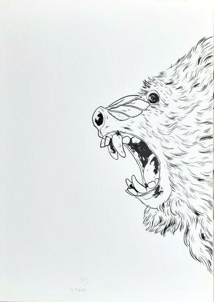Matadouro de unicórnios, arte original, pág 13