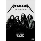 "Metallica - ""Live In San Diego"" DVD Nacional"