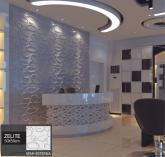 Revestimento 3D Placa 3D Painel 3D Board - Para Áreas Semi-Externas e Internas PVC - Zelite