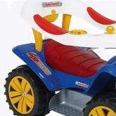 ANDADOR DUDU CAR STYLE COM HASTE DIRECIONÁVEL BIEMME 718
