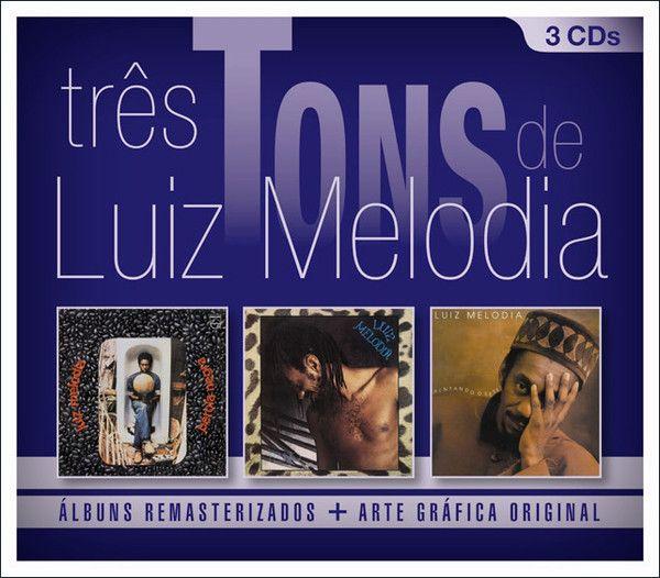Box -  Luiz Melodia – Três Tons De Luiz Melodia