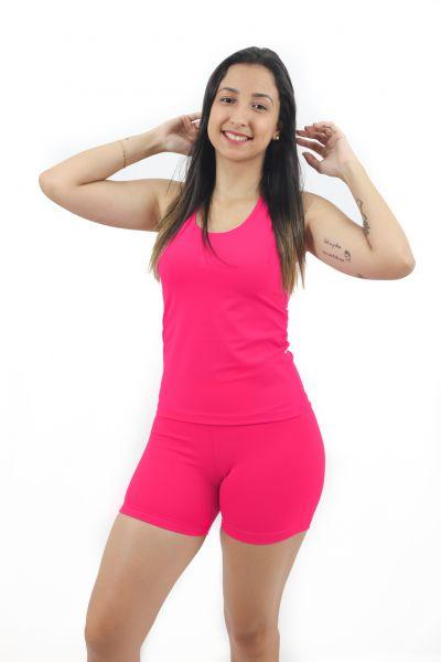 Regata Nadador Sprint Térmica Lisa Rosa- Emana