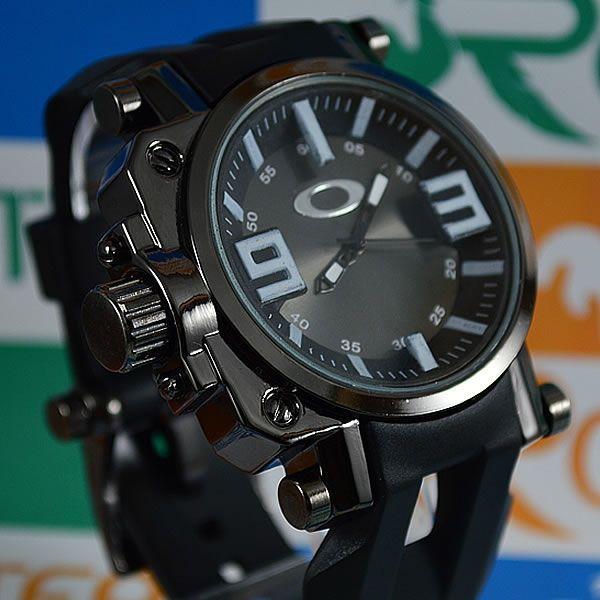 f7a33b028dc Relógio Oakley Gearbox Neymar Preto Fundo Preto Masculino à prova D´água