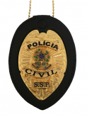 DISTINTIVO POLICIA CIVIL NACIONAL-AGUIA