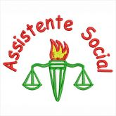 Assistente Social Matriz para Bordar