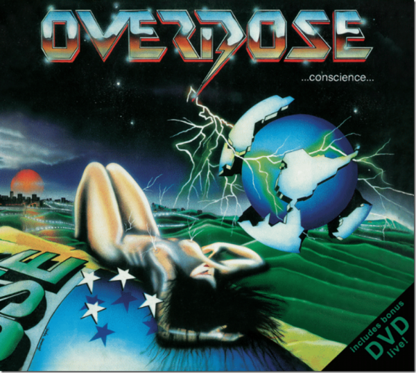 CD - Overdose - ...Conscience... (+DVD)