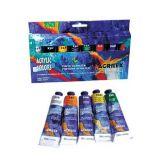Tinta acrílica (para tela) metálica 20ml Acrilex Acrylic Colors