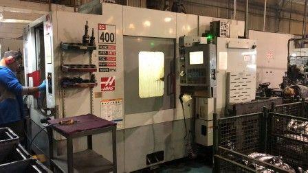 Centro de usinagem Usado horizontal HAAS EC-400-45DEG