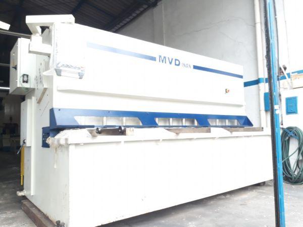 "Guilhotina Hidráulica MVD 3000 mm x 1/2"" Usada"