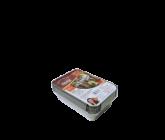 Kit Assadeira Alumínio 250ml com tampa 12un