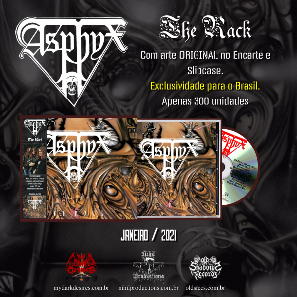 Asphyx - The Rack (Slipcase)