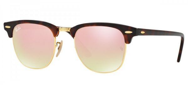 71e4b8020150e Óculos Clubmaster RB3016 PC Rosa - Loja de Elnshop