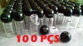 100 Frasco Amostra Provador Flaconete 5ml + Tampa Rosca