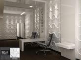 Revestimento Placas Decorativas 3D Board - Fibra de Bambu Original - Besta
