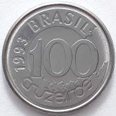 100 Cruzeiros 1993 SOB/FC