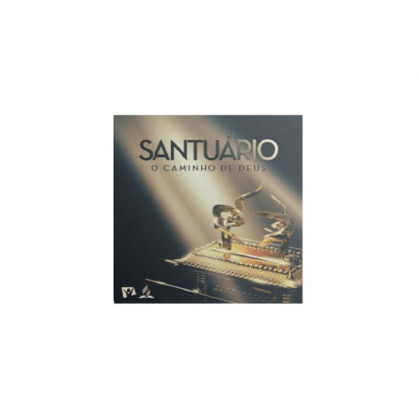 CD Santuário - O Caminho De Deus (Digipack)