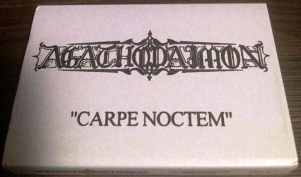 AGATHODAIMON -  Carpe Noctem - CASSETE