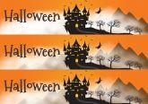 Papel Arroz Halloween Faixa Lateral A4 005 1un