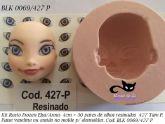 Kit  Rosto Frozen + 30 pares olhos resinados ( 0069/427 P) tam P