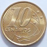 10 Centavos 2000 FC