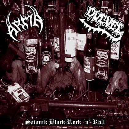 CD Arma / Dulvel – Satanik Black Rock 'N' Roll
