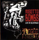 CD Ação Direta - Risotto Bombs Live in Slovenia