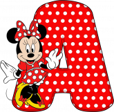 Alfabeto - Minnie 8 - PNG.