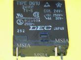 RELE DG1U 24VDC 8A