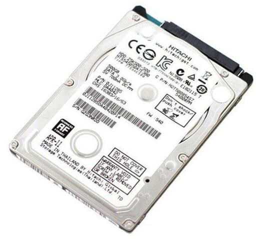 Hd Notebook 500gb Sata 3 Hitachi  Slim 5400rpm - Novo