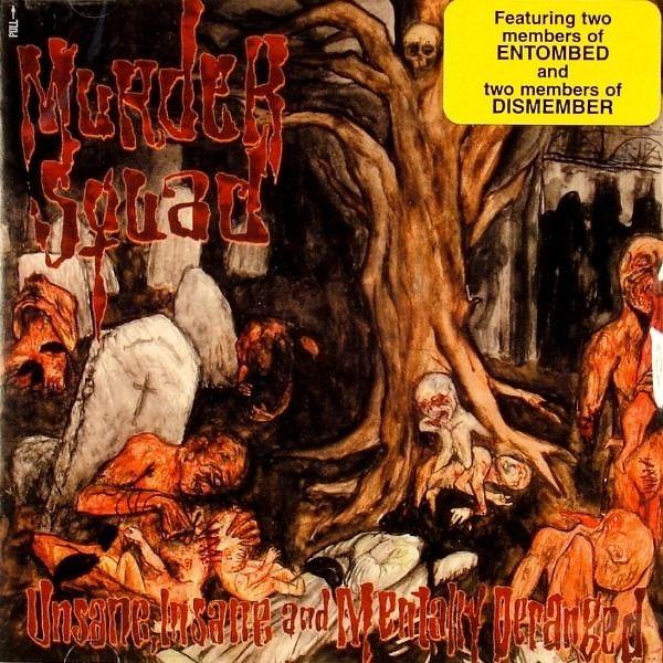 CD Murder Squad - Unsane, Insane And Mentally Deranged