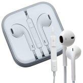 Fone de ouvido com microfone e controle de volume universal