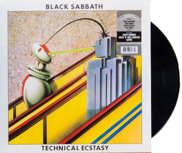 LP 12 - Black Sabbath - Technical Ecstasy