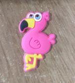 Aplique Emborrachado Flamingo(Unidade)