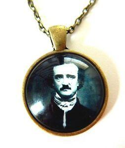 Colar Allan Poe -Bronze
