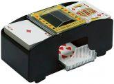 Kit Embaralhador de Cartas Automático + Baralho + Pilhas - 21cm