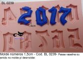 Molde números 1,5cm - BL 0239