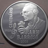 2 Reais 2003 Centenário Ary Barroso