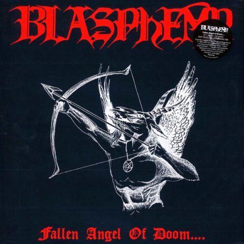 BLASPHEMY - Fallen Angel Of Doom - black lp