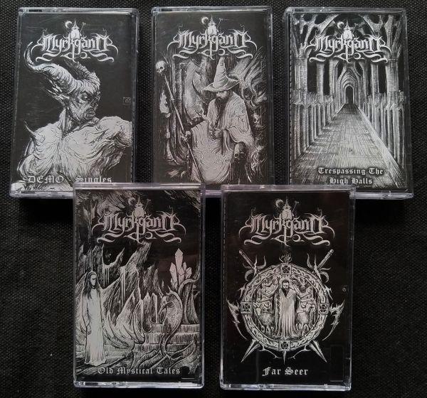 (npbox - 002) Myrkgand - Ancestral Relics (5-Tape Boxset)