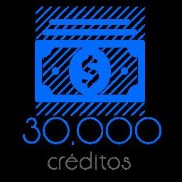 30,000 Moedas